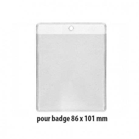 Porte-badge souple - Ref PBS/12R