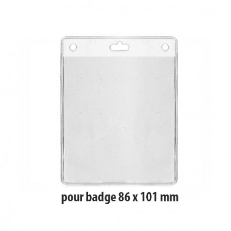 Porte-badge souple - Ref PBS/12O