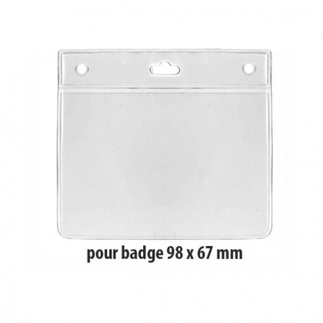 Badge holder - Ref PBS/37HO
