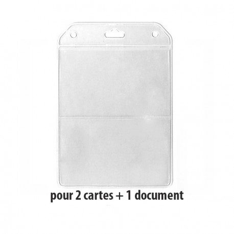 Porte-badge - Ref PBS/DUO