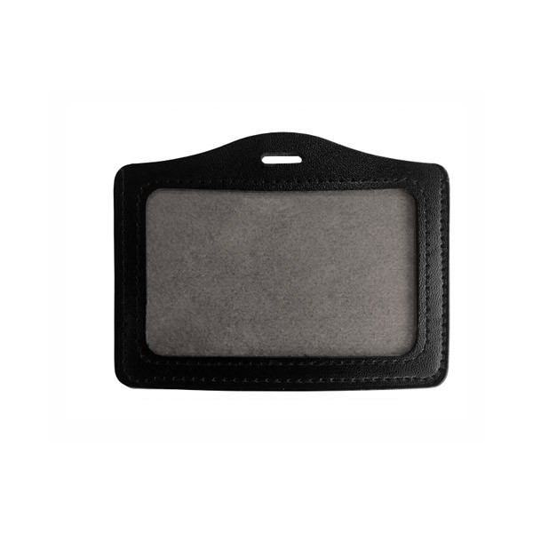 Portebadge Simili Cuir Ref PBSSIH - Porte badge cuir