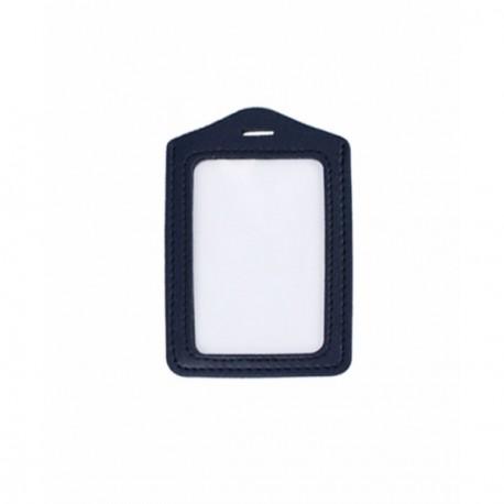 Badge Simili Cuir Ref PBSSIV - Porte badge cuir