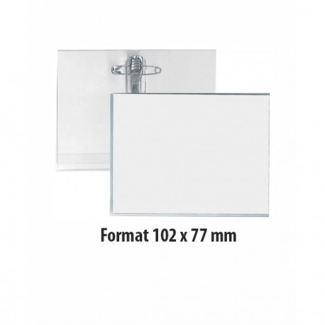 Porte-badge semi-rigide - Ref PBSR/2.1
