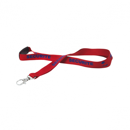 Lanyard SECURITE