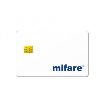 Badge MIFARE + Puce Contact