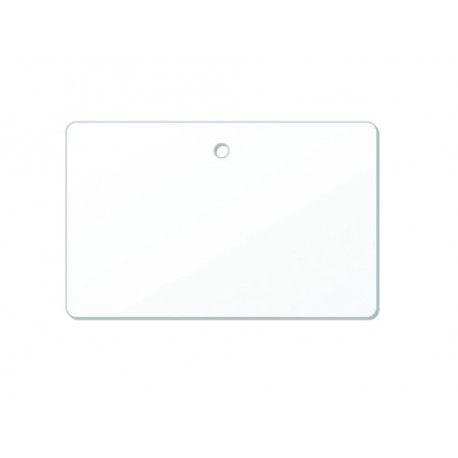 Carte PVC perforation ronde