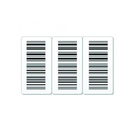 Cartes sécables 3 parties imprimées
