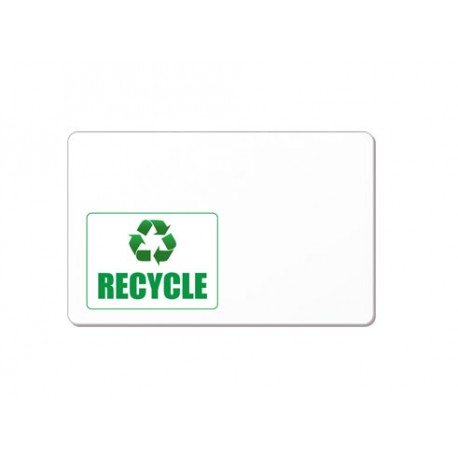 Carte PVC recyclé
