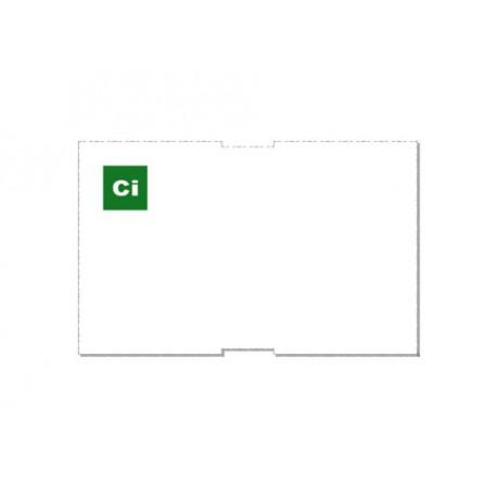 Customizable paper badge