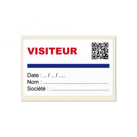 Badges cartonnés personnalisés