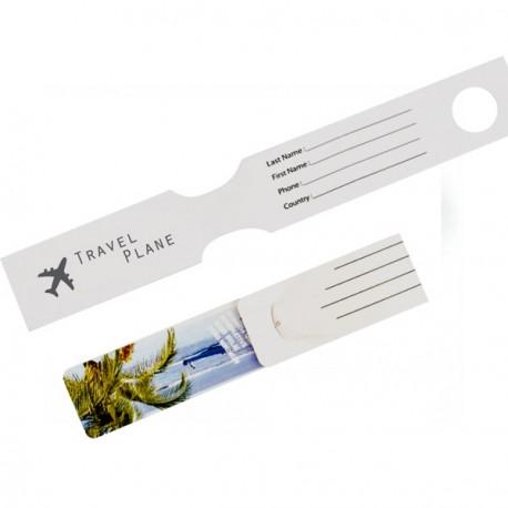Etiquette bagage - Ref PEB/TEKGO