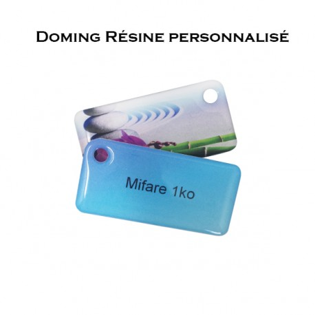 Doming key fob