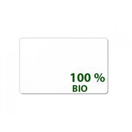 Carte 100 % sans PVC