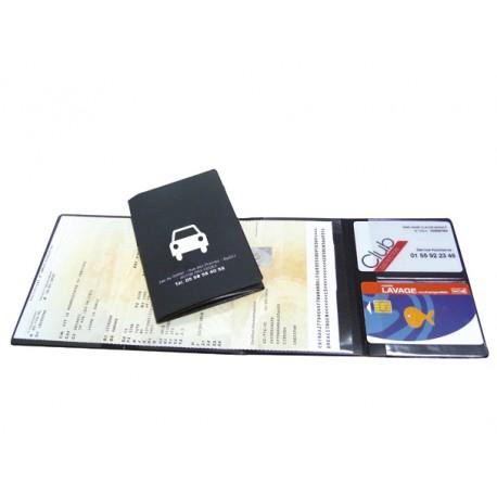 Porte carte grise - 2 cartes