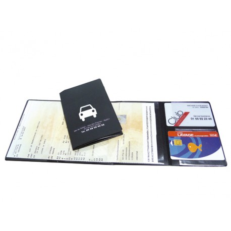Vehicle card holder - 2 cards