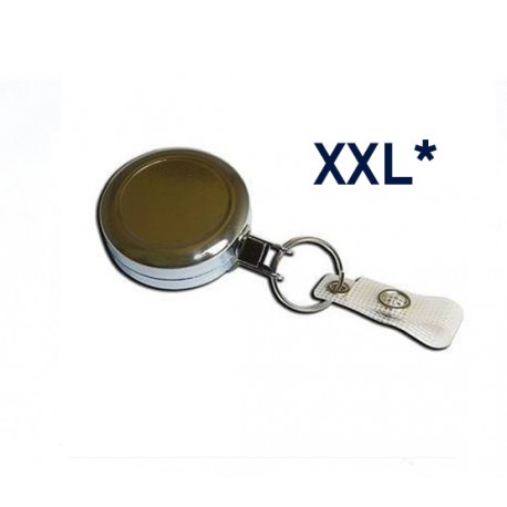 Chrome Badge reel- Ref ZIP/CHL