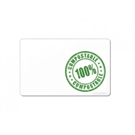 Card BIO COMPOSTABLE