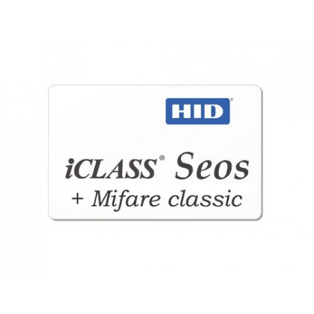 Badge ICLASS SEOS + MIFARE