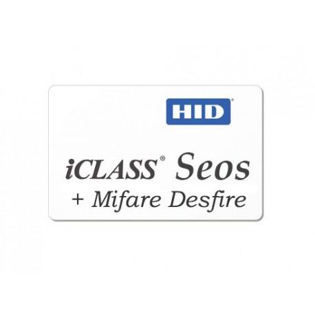Badge ICLASS SEOS + DESFIRE