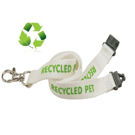 Lanyard PET recycled