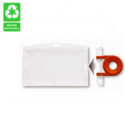 Locked badge holder - Ref PBR/CLL