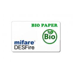 Badge MIFARE - DESFIRE BIO PAPER